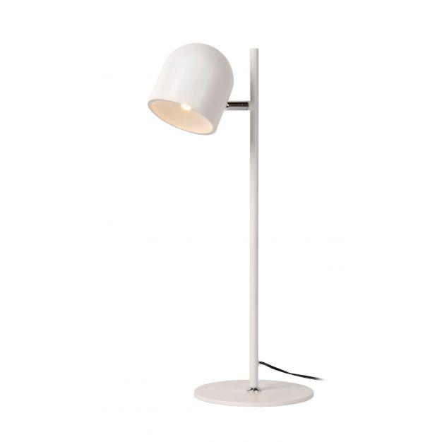Lucide Skanska - bureaulamp - 46 cm - 5W dimbare LED incl. - wit