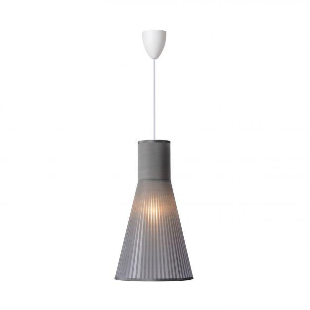 Lucide Lima - hanglamp - 21 x 115 cm - grijs