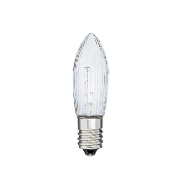 Konstsmide lamp - E10 fitting - Ø 1 x 4,5 cm- transparant