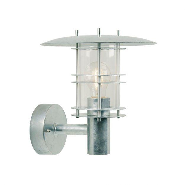 Nordlux Fredensborg - buiten wandverlichting - 24 x 27 x 25,5 cm - IP54 - gegalvaniseerd staal