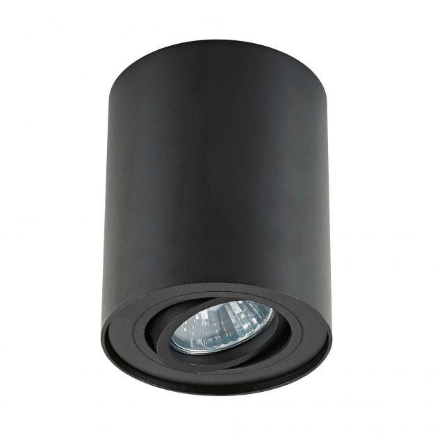 Zuma Line Rondoo - opbouwspot - Ø 9,3 x 11,5 cm - zwart