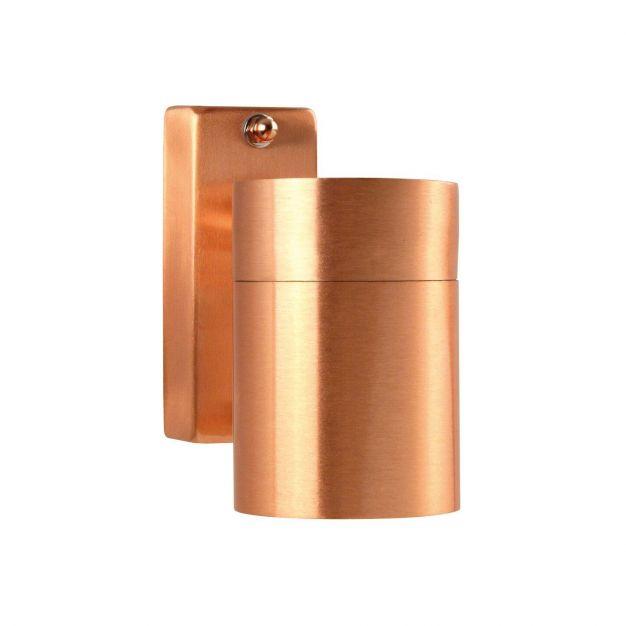 Nordlux Tin Down - buiten wandverlichting - 6 x 12 x 11,5 cm - IP54 - koper