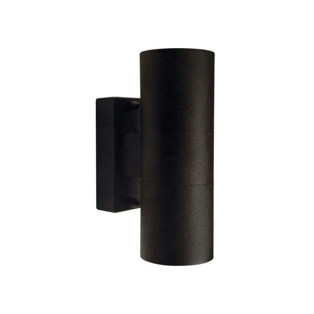 Nordlux Tin - buiten wandverlichting - 6 x 11 x 17 cm - IP54 - zwart