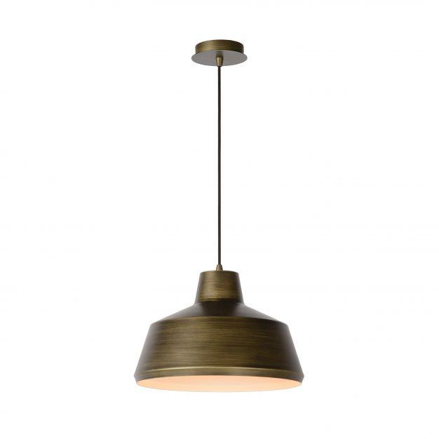 Lucide Neil - hanglamp - Ø 35 x 153 cm - brons