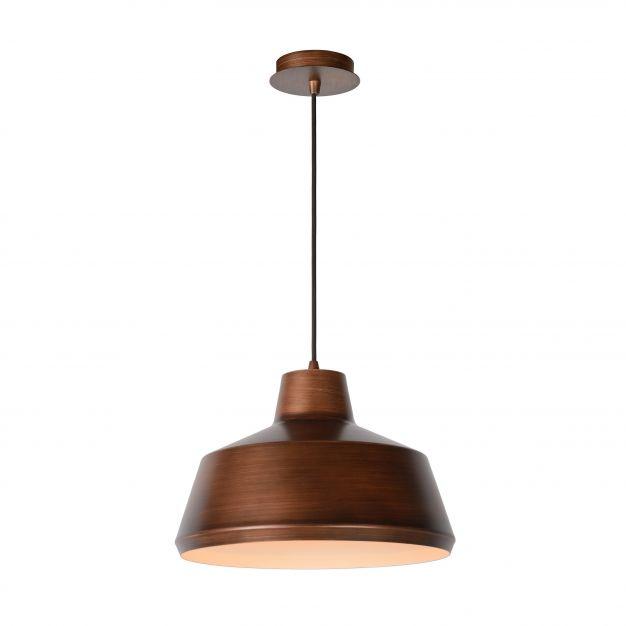 Lucide Neil - hanglamp - Ø 35 x 153 cm - koper