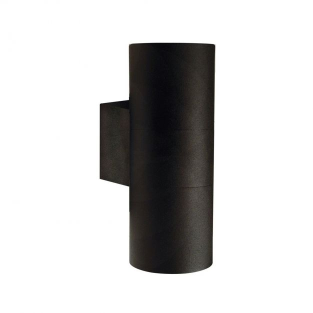 Nordlux Tin Maxi - buiten wandverlichting - 7,6 x 19 x 12,5 cm - IP54 - zwart