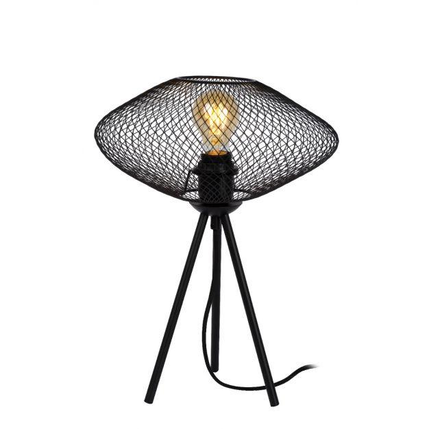 Lucide Mesh - tafellamp - Ø 30 x 41 cm - zwart