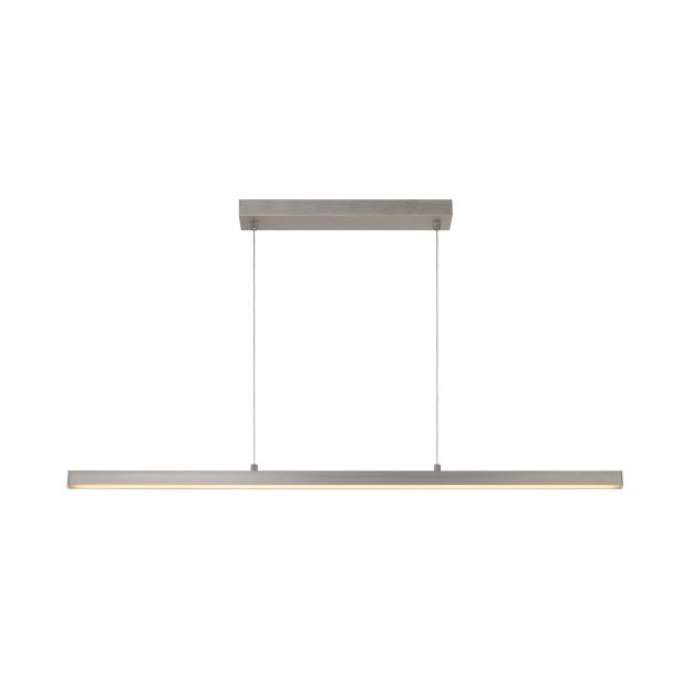 Lucide Sigma - hanglamp - 118 x 150 cm - 30W dimbare LED incl. - mat chroom