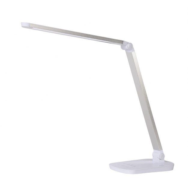 Lucide Vario - tafellamp - 51,5 x 13,5 x 39,4 cm - 8W dimbare LED incl. - wit