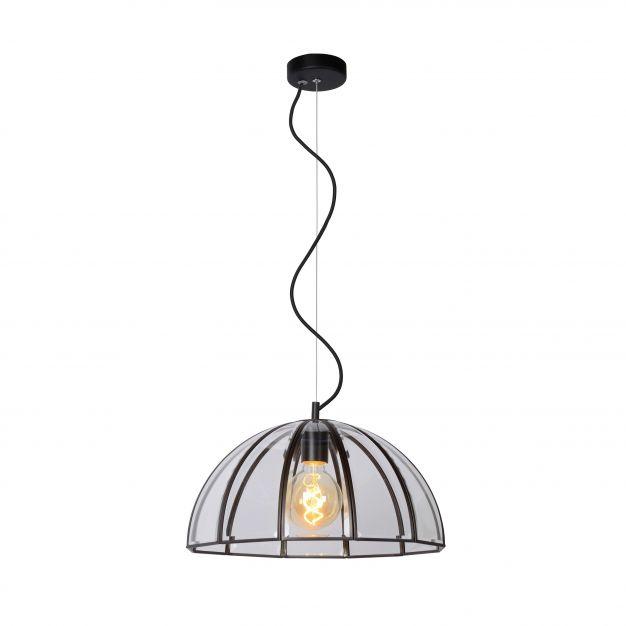 Lucide Timius - hanglamp - Ø 40 x 155 cm - zwart