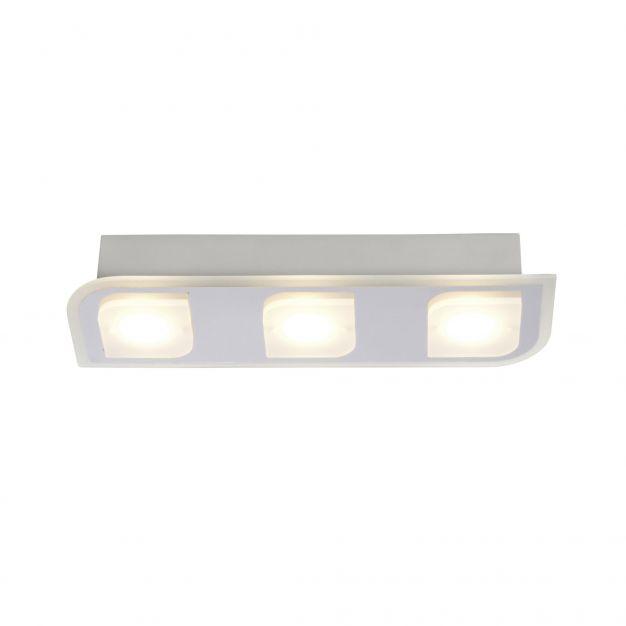 Brilliant Formulas - opbouwspot - 36,9 x 12 x 6,5 cm - 3 x 5W LED incl. - wit chroom