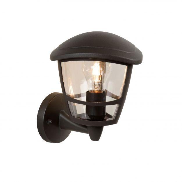 Lucide Istro - buiten wandverlichting - 16 x 22x 19 cm - IP44 - zwart