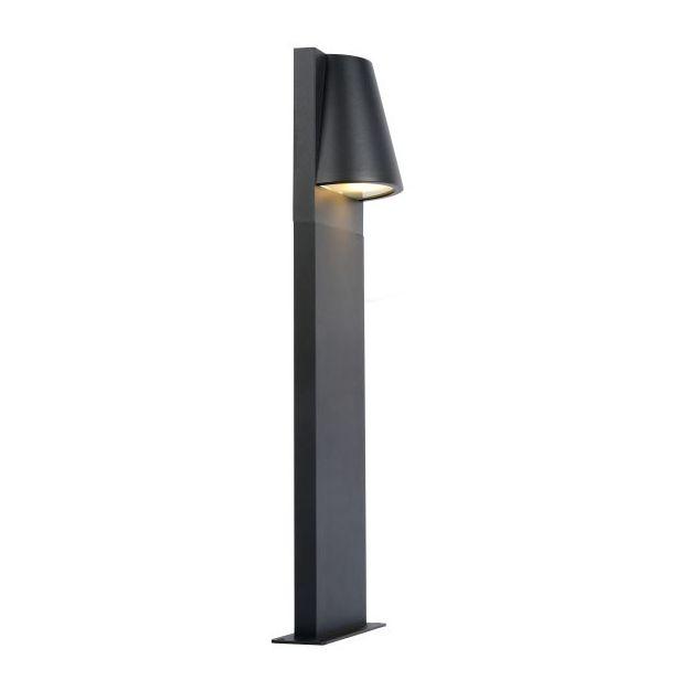 Lucide Liam - tuinpaal - 13,8 x 9,4 x 80 cm - IP44 - antraciet