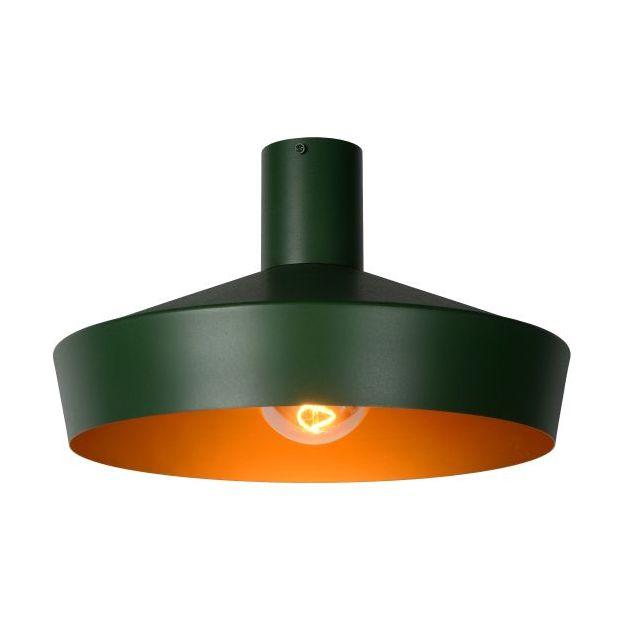 Lucide Cardiff - plafondverlichting - Ø 40 x 24,5 cm - groen