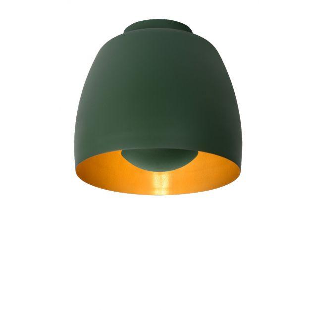 Lucide Nolan - plafondverlichting - Ø24 x 21,7 cm - groen