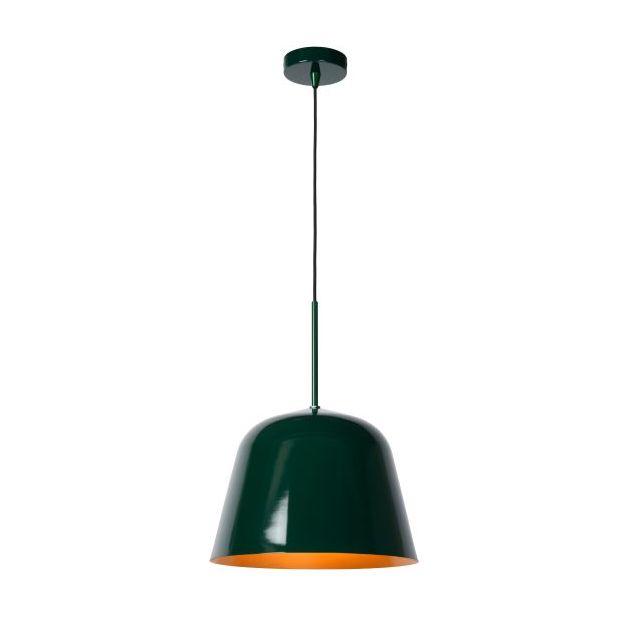 Lucide Misha - hanglamp - Ø 31 x 153 cm - groen