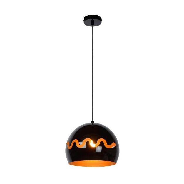 Lucide Corentin - hanglamp - Ø 28 x 153 cm - zwart