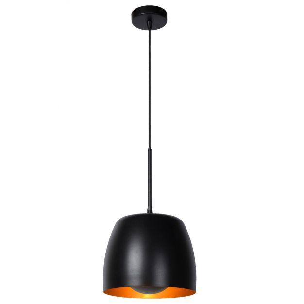Lucide Nolan - hanglamp - Ø24 x 166,2 cm - zwart