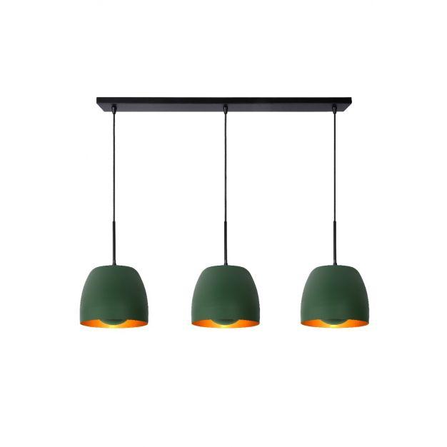 Lucide Nolan - hanglamp - 104 x 24 x 149 cm - groen