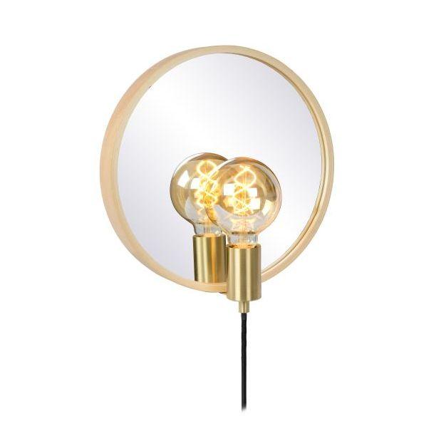 Lucide Reflex - spiegelverlichting - 31 x 12 x 33 cm - goud