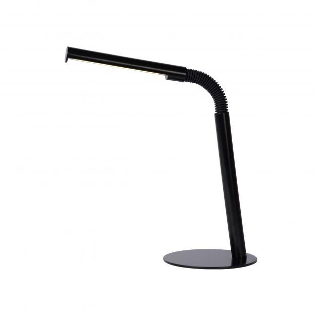 Lucide Gilly - bureaulamp - 28 x 14 x 49 cm - 3W LED incl. - zwart