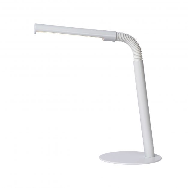 Lucide Gilly - bureaulamp - 28 x 14 x 49 cm - 3W LED incl. - wit