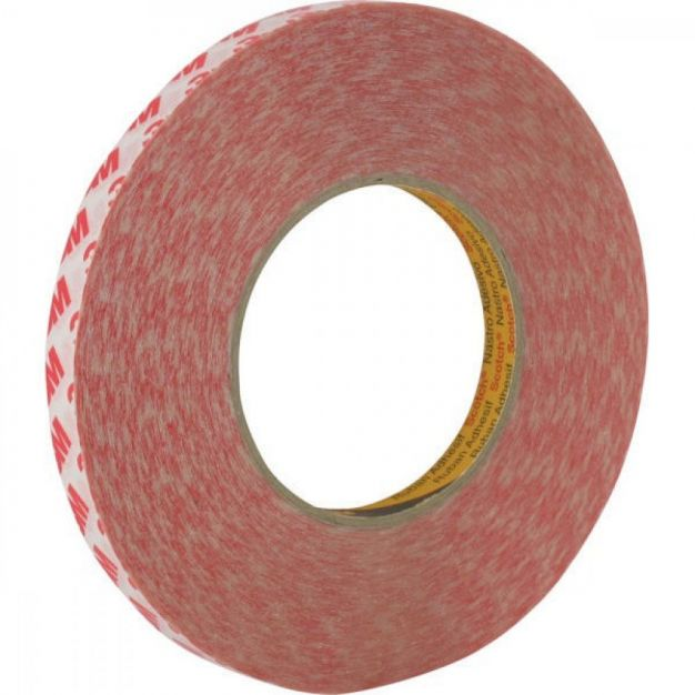 3M dubbelzijdige tape - 1,2 x 200 cm - transparant