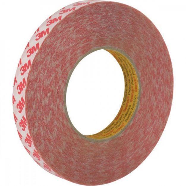 3M dubbelzijdige tape - 1,9 x 500 cm - transparant