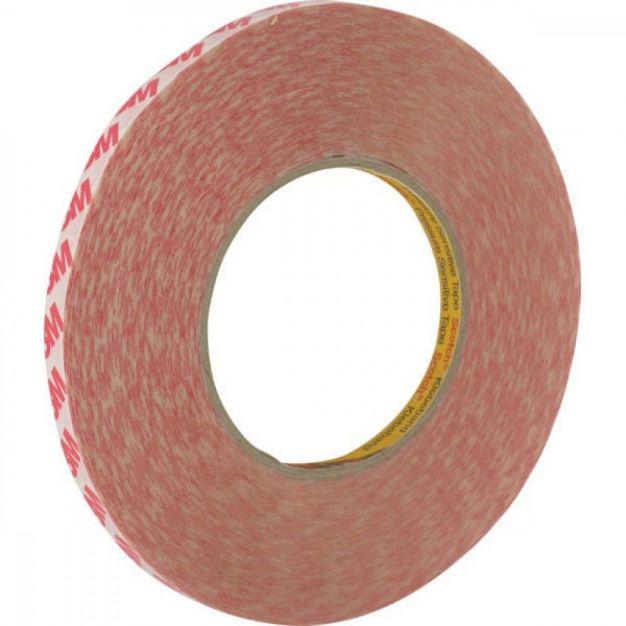 3M dubbelzijdige tape - 0,9 x 200 cm - transparant