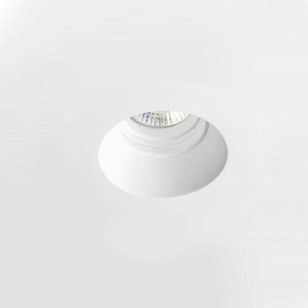 Nova Luce Cosimo - inbouwspot - Ø 130 mm, Ø 135 mm inbouwmaat - wit gips