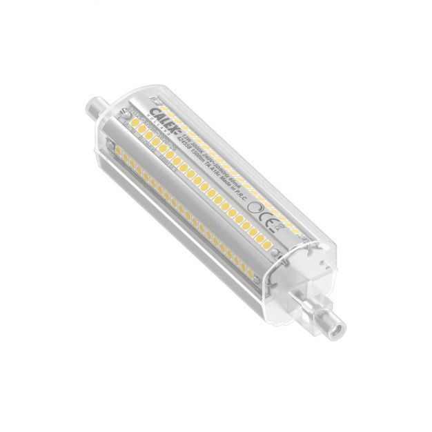 Calex Led lamp - Ø 3 x 11,8 cm - R7s - 13W - dimbaar - 3000K - wit