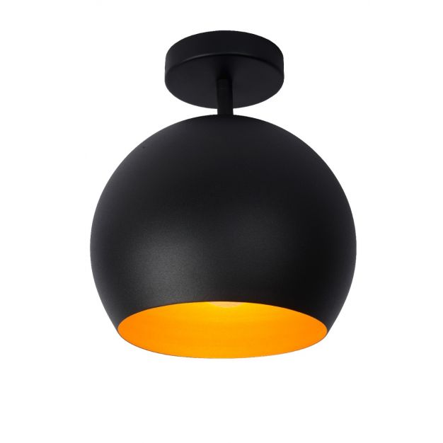 Lucide Bink - plafondverlichting - Ø25 x 32,2 cm - zwart