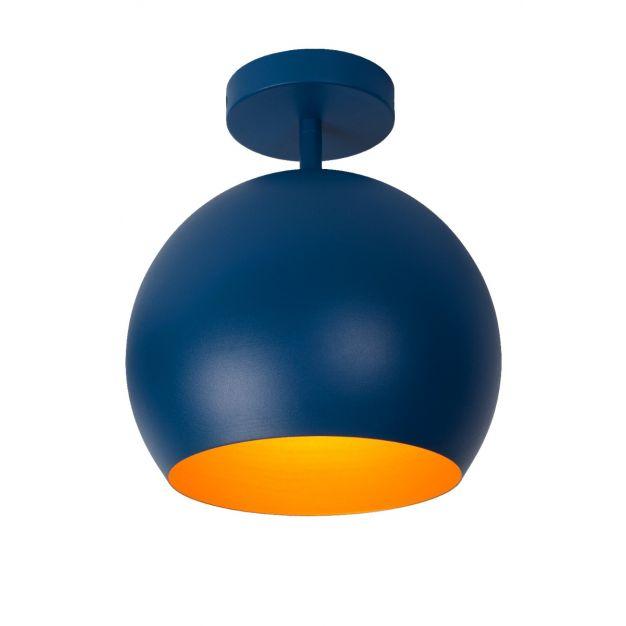 Lucide Bink - plafondverlichting - Ø25 x 32,2 cm - blauw