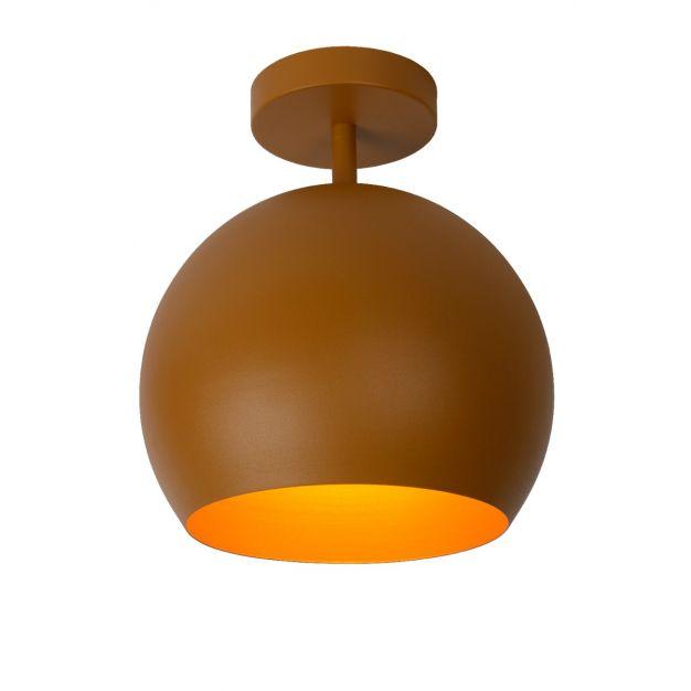 Lucide Bink - plafondverlichting - Ø25 x 32,2 cm - okergeel