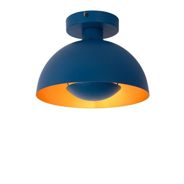 Lucide Siemon - plafondverlichting - Ø25 x 19 cm - blauw