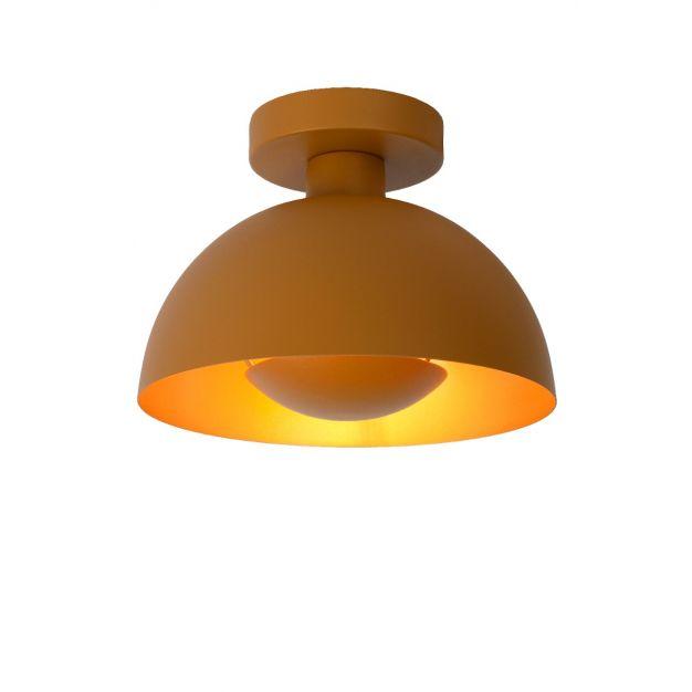 Lucide Siemon - plafondverlichting - Ø25 x 19 cm - okergeel