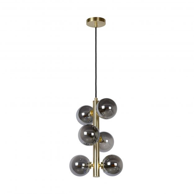 showroommodel Lucide Tycho - hanglamp - Ø 25 x 150 cm - mat goud