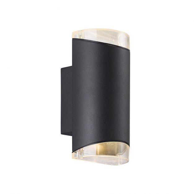 Nordlux Arn - buiten wandverlichting - 10,5 x 22,5 x 11 cm - IP44 - zwart