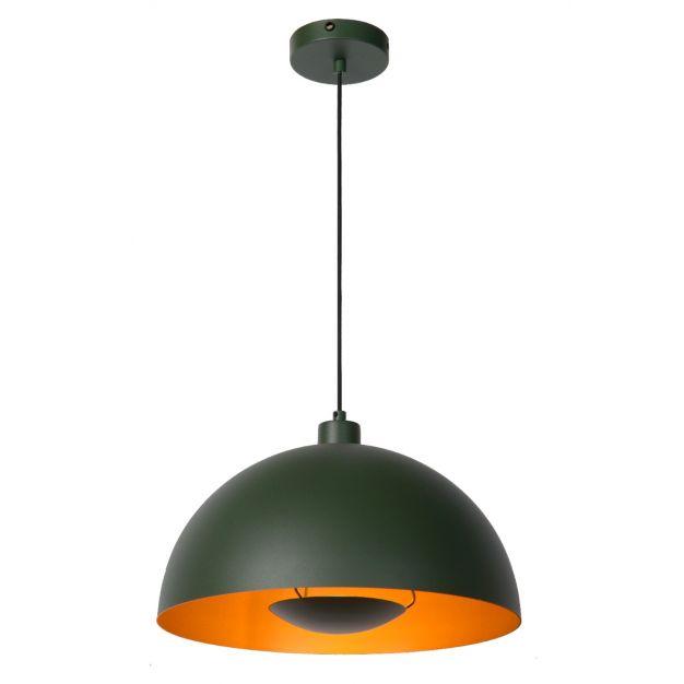 Lucide Siemon - hanglamp - Ø40 x 150 cm - groen
