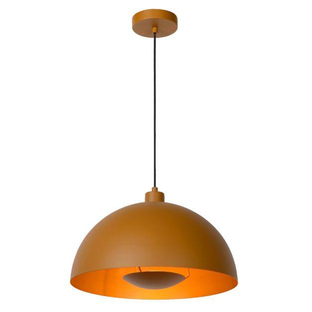 Lucide Siemon - hanglamp - Ø40 x 150 cm - okergeel