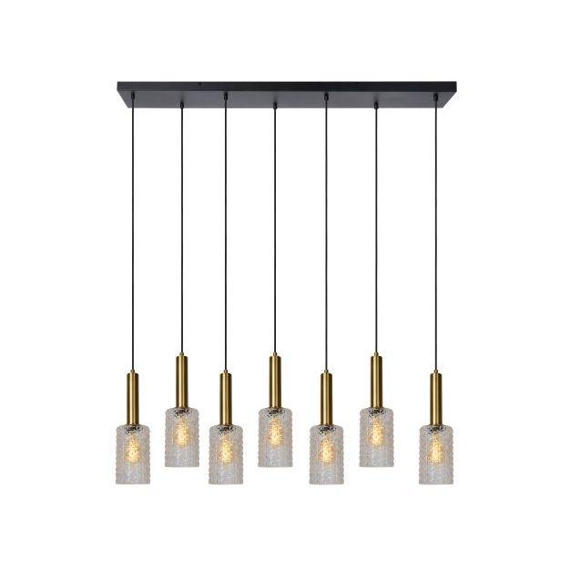 Lucide Coralie - hanglamp - 132 x 25 x 150 cm - goud