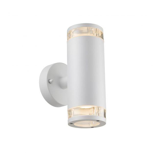 Nordlux Birk - buiten wandverlichting - 9 x 23,5 x 15,5 cm - IP44 - wit