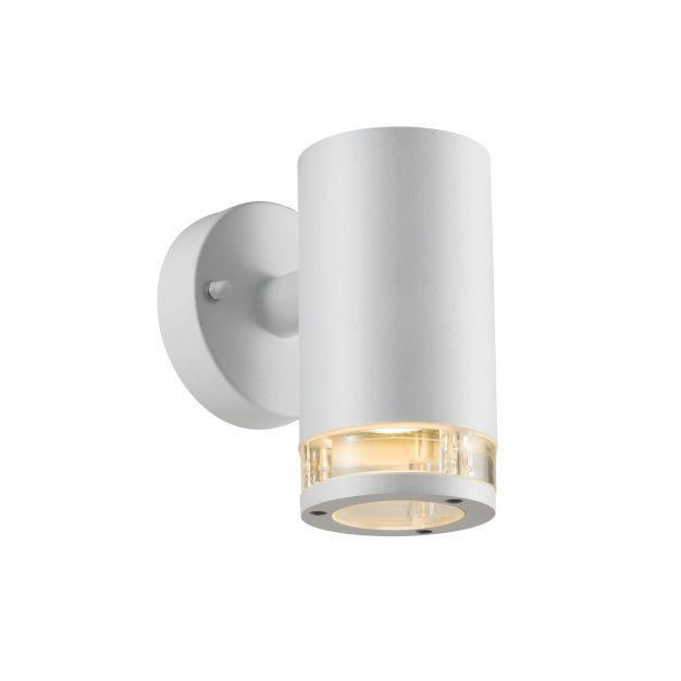 Nordlux Birk Down - buiten wandverlichting - 9 x 17,2 x 15,5 cm - IP44 - wit