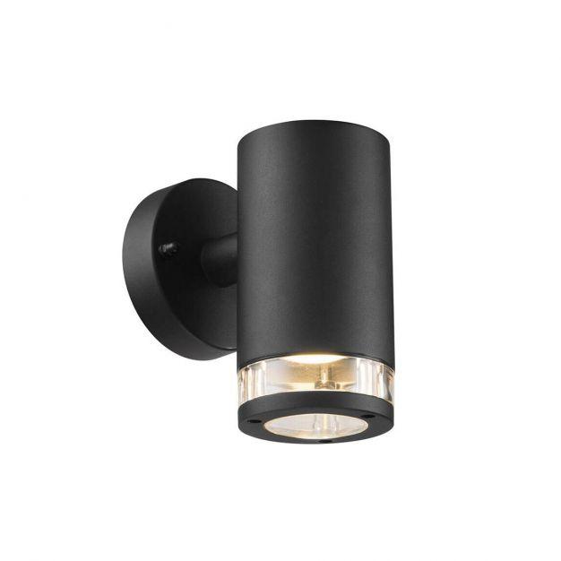 Nordlux Birk Down - buiten wandverlichting - 9 x 17,2 x 15,5 cm - IP44 - zwart