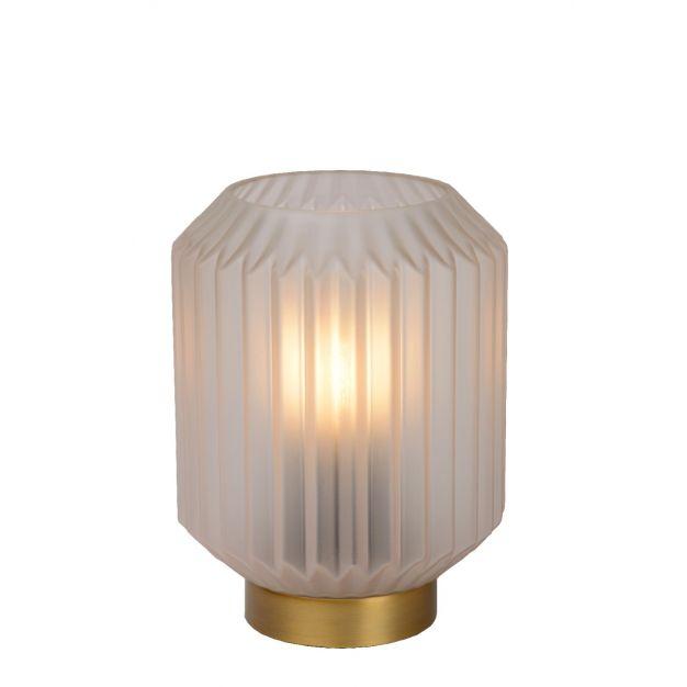 Lucide Sueno - tafellamp - Ø 12,5 x 17 cm - wit