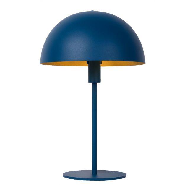 Lucide Siemon - tafellamp - Ø25 x 40 cm - blauw