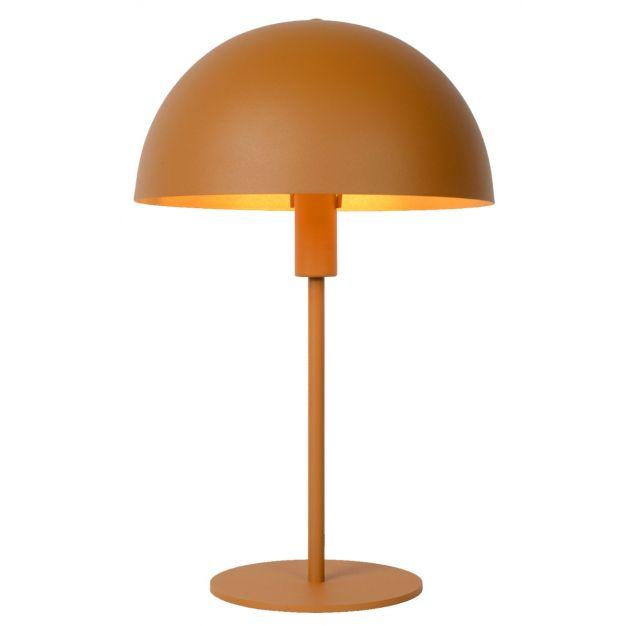 Lucide Siemon - tafellamp - Ø25 x 40 cm - okergeel
