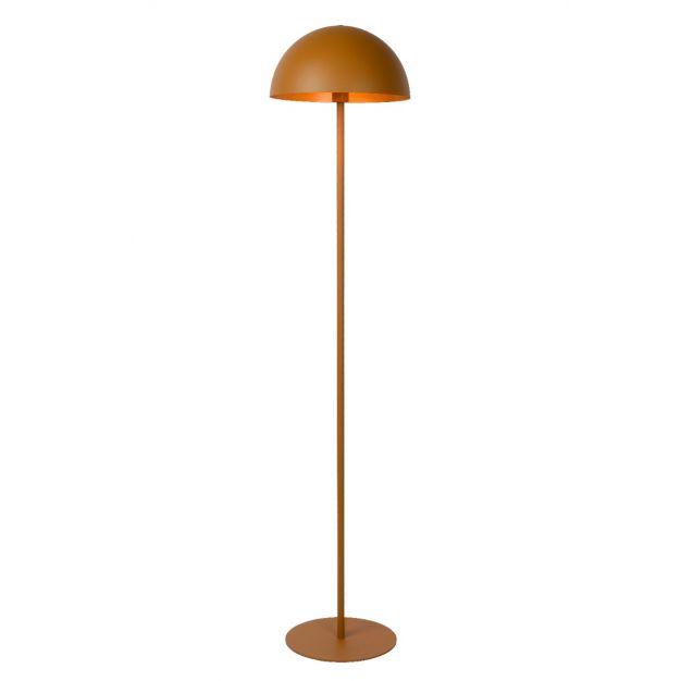 Lucide Siemon - staanlamp - Ø35 x 160 cm - okergeel