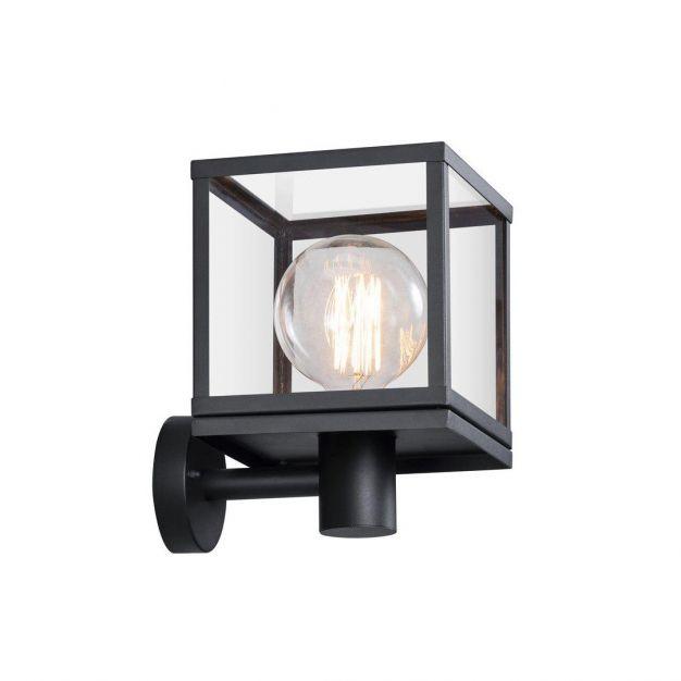 Nordlux Dalton - buiten wandverlichting - 20 x 29,6 x 24,8 cm - IP44 - zwart