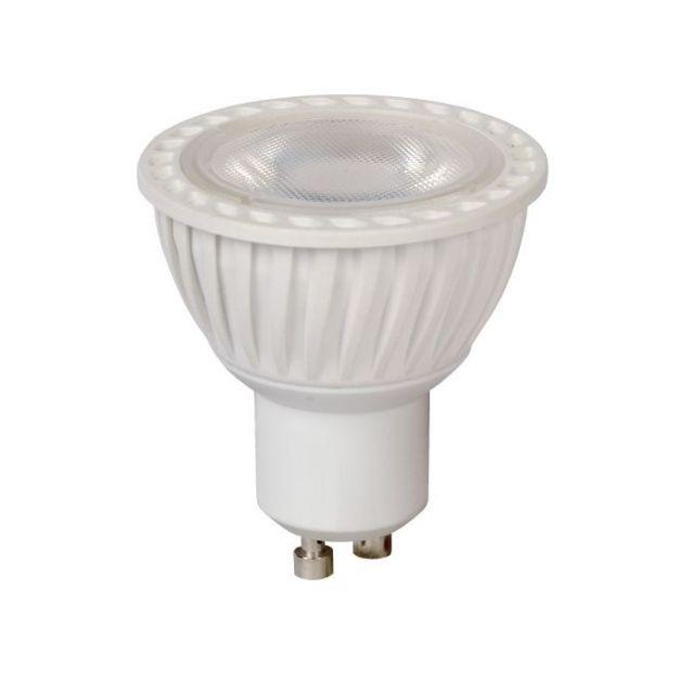 Lichtkoning LED-spot - Ø 5 x 5,5 cm - GU10 - 5W dimbaar - 2700K - wit